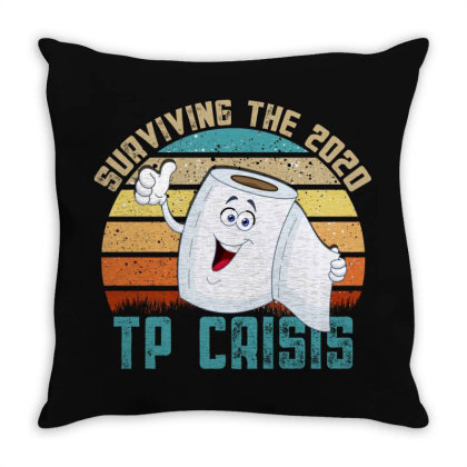 Surviving The 2020 Tp Crisis Throw Pillow Designed By Gurkan