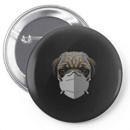 Paramedic Pug Dog Pin-back Button Designed By Gurkan