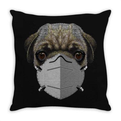 Paramedic Pug Dog Throw Pillow Designed By Gurkan