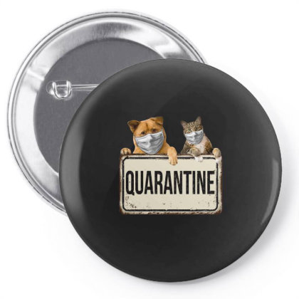 Quarantine Animals Pin-back Button Designed By Gurkan