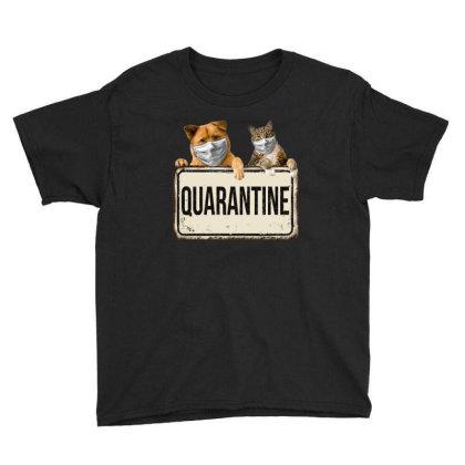 Quarantine Animals Youth Tee Designed By Gurkan