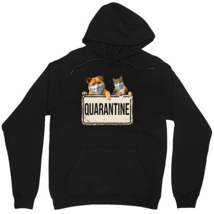 Quarantine Animals Unisex Hoodie Designed By Gurkan