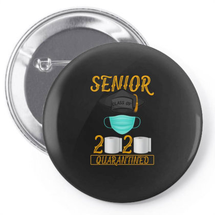 Senior Class Of 2020 Quarantined Pin-back Button Designed By Gurkan