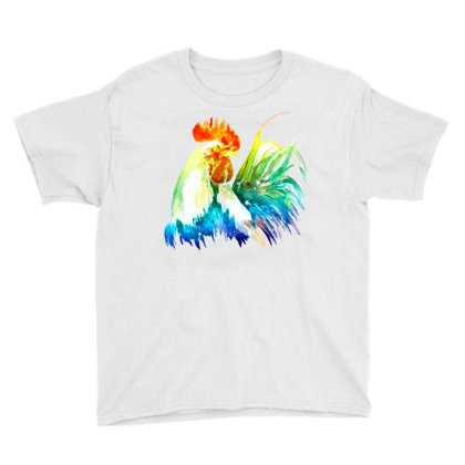 Rooster Lgbt Youth Tee Designed By Gurkan