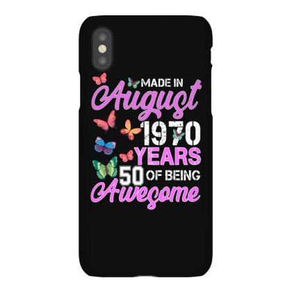 Made In August 1970 Ears 50 Of Being Awesome For Dark Iphonex Case Designed By Sengul