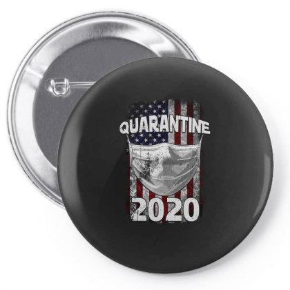 Quarantine 2020 Pin-back Button Designed By Gurkan