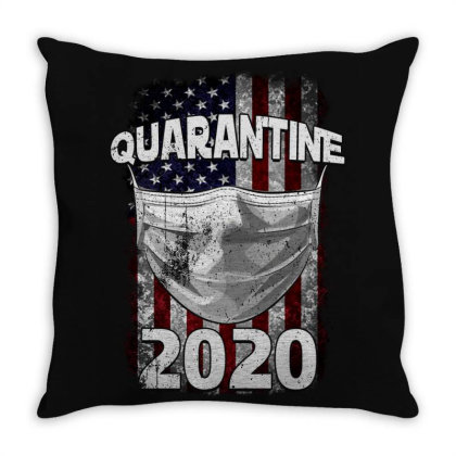 Quarantine 2020 Throw Pillow Designed By Gurkan