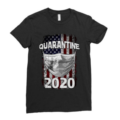 Quarantine 2020 Ladies Fitted T-shirt Designed By Gurkan