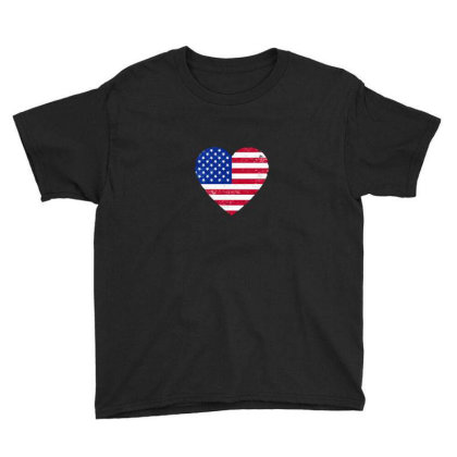 American Flag . Grunge American Flag Youth Tee Designed By Alamy