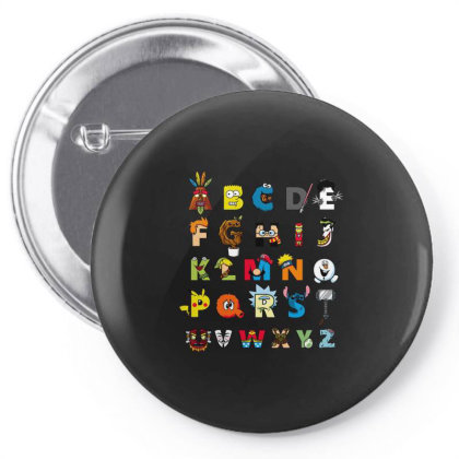 Abc Nerd Pin-back Button Designed By Cuser3244
