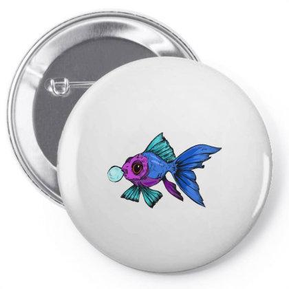 Cute Fish Pin-back Button Designed By Mysticalbrain