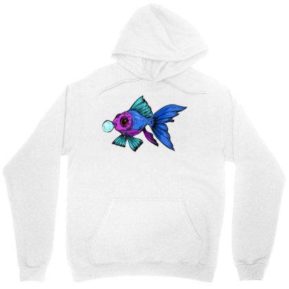Cute Fish Unisex Hoodie Designed By Mysticalbrain