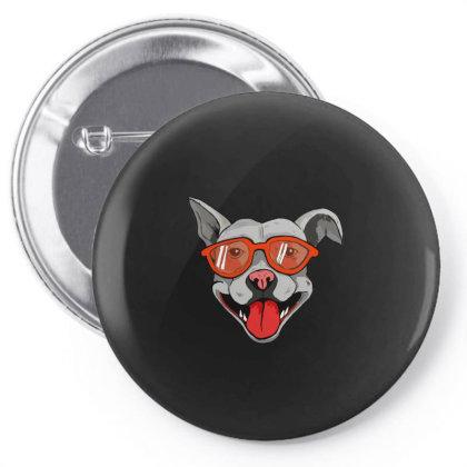 Grey Big Dog Pin-back Button Designed By Mysticalbrain