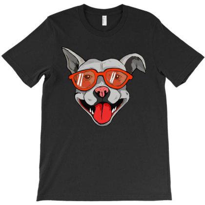Grey Big Dog T-shirt Designed By Mysticalbrain