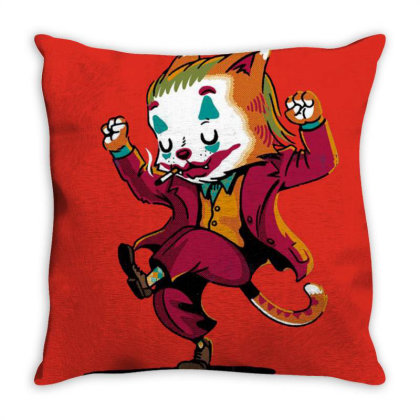 Always Smiling Throw Pillow Designed By Cuser3244