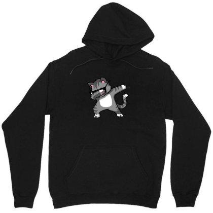 Dabbing Cat Funny Shirt Dab Hip Hop Dabbing Kitten Unisex Hoodie Designed By Vomaria