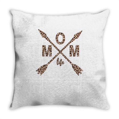 Mom Life Throw Pillow Designed By Badaudesign