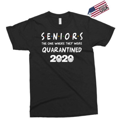 Seniors The One Where They Were Quarantined 2020 Exclusive T-shirt Designed By Badaudesign
