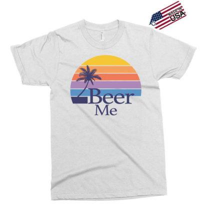 Beer Me Sunset Exclusive T-shirt Designed By Badaudesign