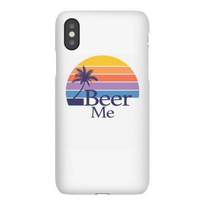 Beer Me Sunset Iphonex Case Designed By Badaudesign