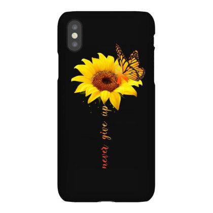 Never Give Up Iphonex Case Designed By Badaudesign