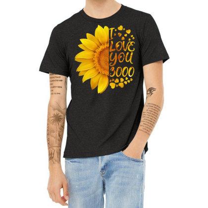 I Love You 3000 Heather T-shirt Designed By Badaudesign