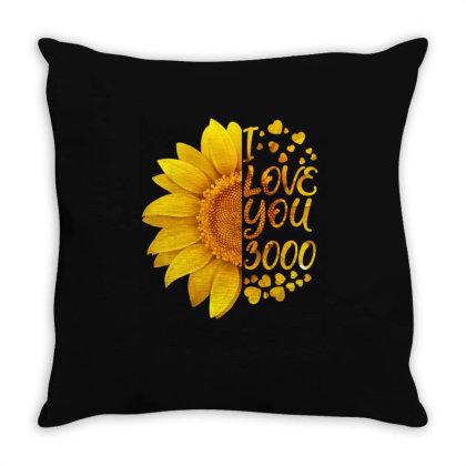 I Love You 3000 Throw Pillow Designed By Badaudesign