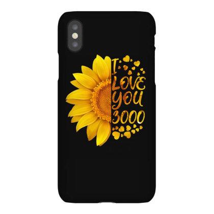 I Love You 3000 Iphonex Case Designed By Badaudesign