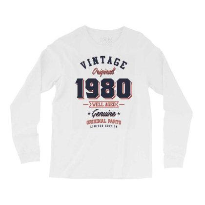 Since 1980 Tshirt Long Sleeve Shirts Designed By Cidolopez