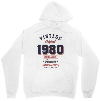 Since 1980 Tshirt Unisex Hoodie Designed By Cidolopez