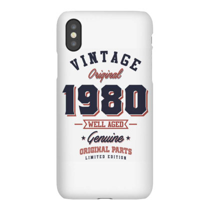 Since 1980 Tshirt Iphonex Case Designed By Cidolopez
