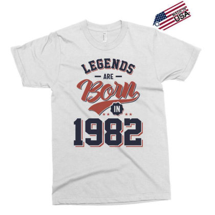 Legends Are Born In 1982 Birthday Gift Exclusive T-shirt Designed By Cidolopez