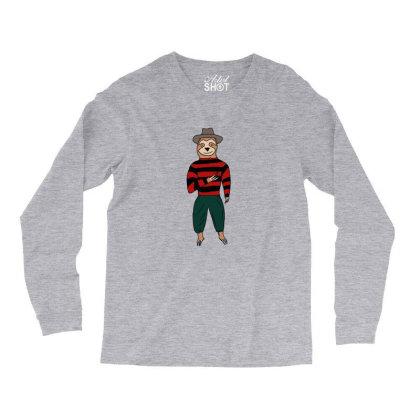 Sloth Krueger Long Sleeve Shirts Designed By Cypryanus