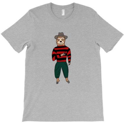 Sloth Krueger T-shirt Designed By Cypryanus