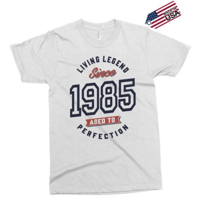 Living Legend Since 1985 Birthday Gift Exclusive T-shirt Designed By Cidolopez