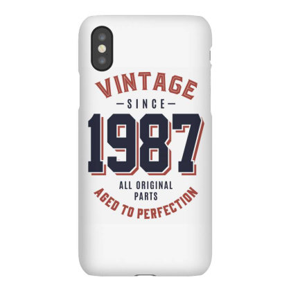 Vintage Since 1987 Birthday Gift Iphonex Case Designed By Cidolopez