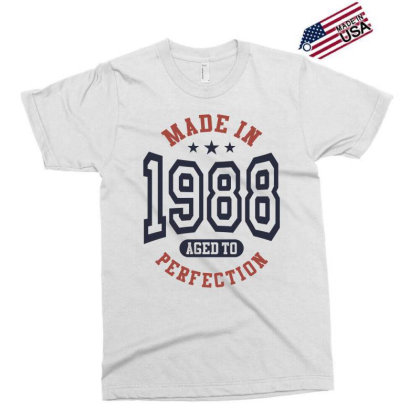 Made In 1988 Aged To Perfection Birthday Gift Exclusive T-shirt Designed By Cidolopez