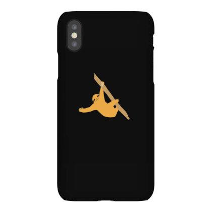 Sloth Orange Iphonex Case Designed By Cypryanus