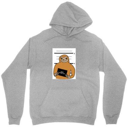 Sloth Stuck Unisex Hoodie Designed By Cypryanus