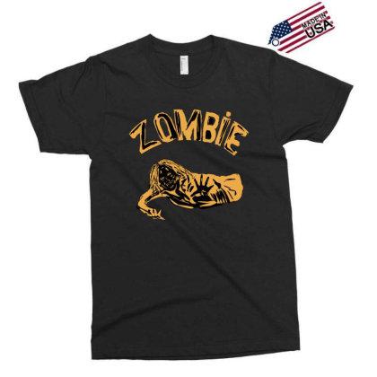 Zombie Art Minimal Exclusive T-shirt Designed By Cypryanus