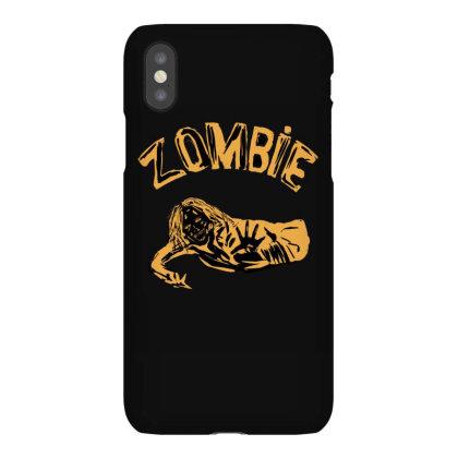 Zombie Art Minimal Iphonex Case Designed By Cypryanus