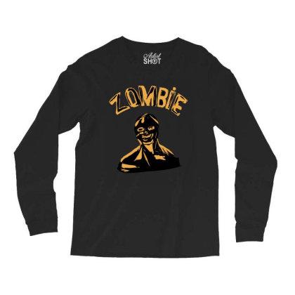 Zombie Fan Long Sleeve Shirts Designed By Cypryanus