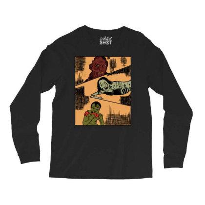 Zombie Apocalypse Long Sleeve Shirts Designed By Cypryanus