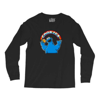As Long As We Have Cookies Long Sleeve Shirts Designed By Cuser3244