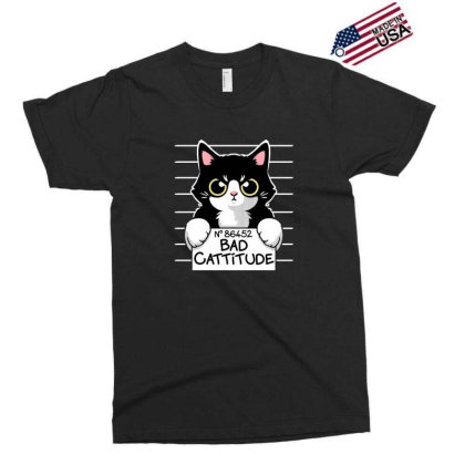 Bad Cattitude Exclusive T-shirt Designed By Cuser3244