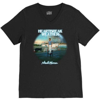 1 Niall Horan   Heartbreak Weather V-neck Tee Designed By Hanifabu1090