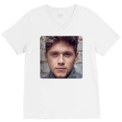 2 Niall Horan   Heartbreak Weather V-neck Tee Designed By Hanifabu1090