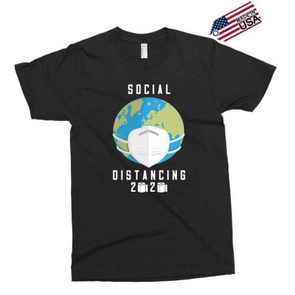 Social Distancing 2020 Shirt Exclusive T-shirt Designed By Faical