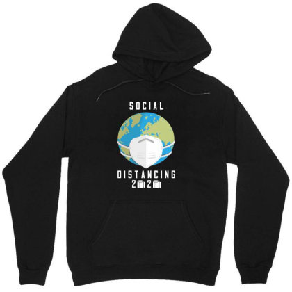 Social Distancing 2020 Shirt Unisex Hoodie Designed By Faical
