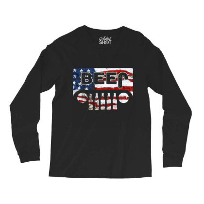 Jeep Beer Long Sleeve Shirts Designed By Kakashop